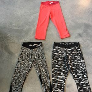Lot of Nike dry-fit crops small